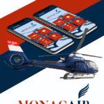 Monacair запустил мобильное приложение