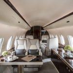 Новый чартерный Global 5000 в парке Global Jet Concept